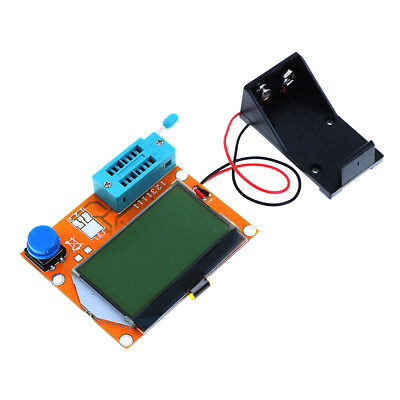 1Pc digital lcr-t4 diode triode capacitance mos/pnp/npn lcd screen tester  /