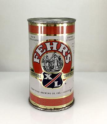 Fehr's Xl Flat Top Beer Can Frank Fehr Brewing Louisville, Ky No Reserve Auction