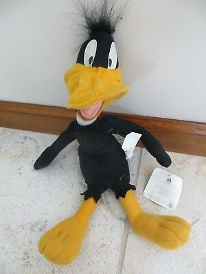 "Looney Tunes 12"" Daffy Duck Stuffed Plush Doll NEW"