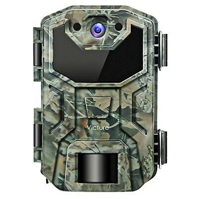 Trail Game Camera 16MP Night Vision Motion Activated Waterproof Design 1080P