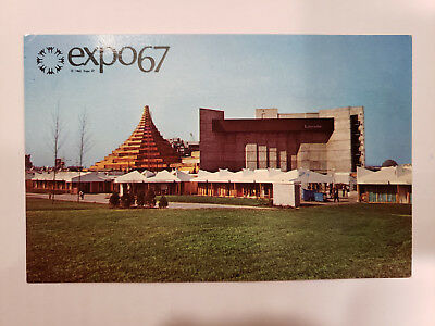 1967 Montreal Canada Expo, The Labyrinth, Vintage Postcard
