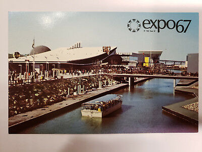 1967 Montreal Canada Expo, The Pavilion of Italy, Vintage Postcard