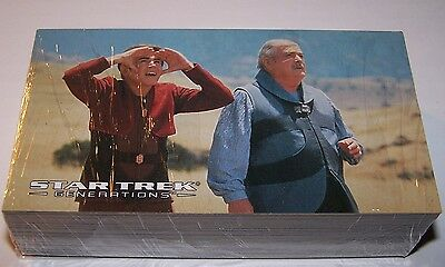 Star Trek Generations Trading Cards Skybox 1994 72 Card Base Set