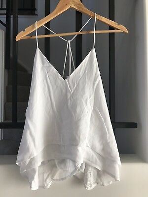 Avery the Label size 10 white top