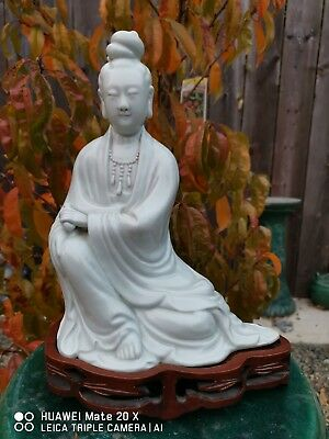 Estate Old House Chinese Antique Porcelain dehua guanyin Ming Qing Asian China