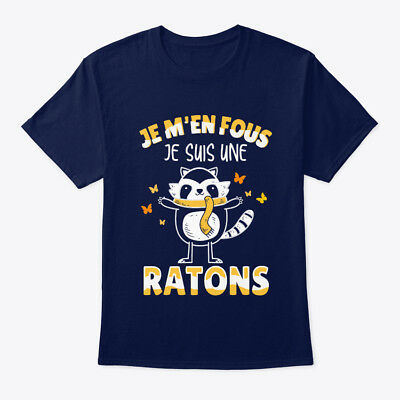 Je Suis Une Ratons Hanes Tagless Tee T-Shirt