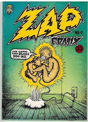 Zap Comix Number Zero, 1968, R Crumb, 35 Cent Free Shipping