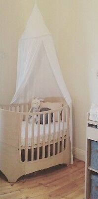 Nursery Bed Cot Canopy Baby Girl Boy Styling Decor