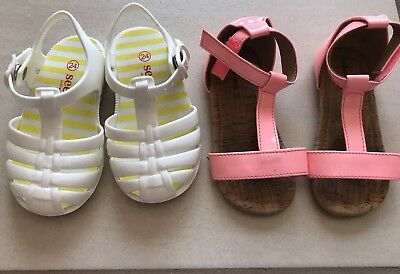 Seed Country Road Sandals Girls Sizes 22 And 24