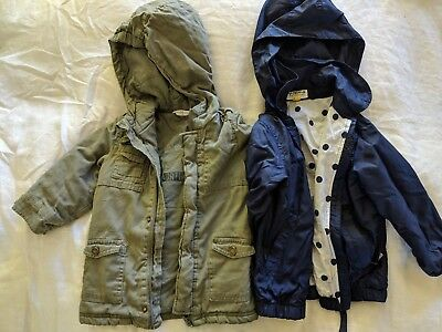 children's clothing, two jackets, size 2 and 3, Jack & Milly