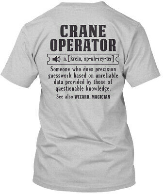 2887438f Comfy Awesome Crane Operator Hanes Tagless Tee T-Shirt Hanes Tagless Tee T- Shirt