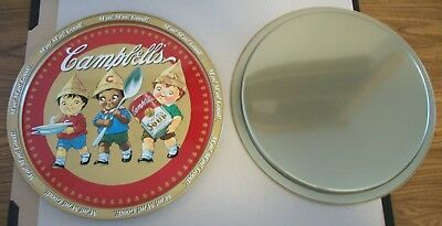 Campbell's Soup Tray -- Cute Advertising Item - (10) Older Remakes Of Originals