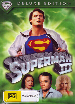 Superman III - DVD Brand New Sealed R4 Christopher Reeve Deluxe Edition
