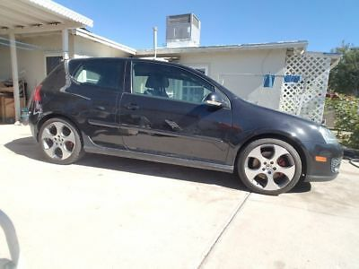 "2008 Volkswagen Golf 2d hatchback Golf GTI 2008 2.0 FSI Turbo black 2 doors 18"" wheels tires Made in Germany Stock"