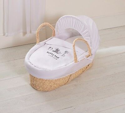 Isabella Alicia Tatty Ted Designer Baby moses basket DRESSING 3 Pc bedding Set