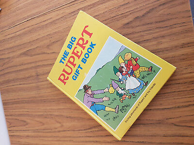 The Big Rupert Gift Book ( 1970S ) Good Condition.