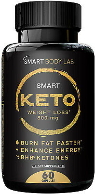 Smart Keto Weight Loss - BHB Exogenous Ketones Diet Supplement, Perfect Formula