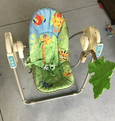 Fisher Price Infant And Toddler Swing