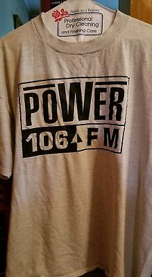 Power 106 XL Vintage Tshirt 1nce worn by THE BOOMER