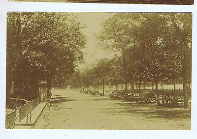 Gibraltar Park Gardens Original Vintage Old Real Photo Postcard Mi