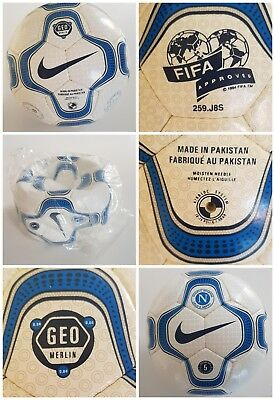 Nike Geo Merlin Official Match Ball Football Omb Fifa Approved Soccer New Size 5