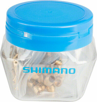 Shimano Bulk BH59 Olive and Insert Jar of 50 pair (2nd gen. fitting Y8H298040)