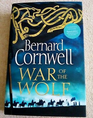 WAR OF THE WOLF *Signed* 1st Edition Hardback *with extras* BERNARD CORNWELL