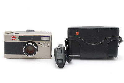 **Near Mint** Lecia Minilux 35mm Film Camera 40mm f/2.4 w/ Case from Japan-#977