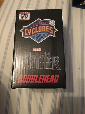 2018 Black Panther Mini Bobblehead Brooklyn Cyclones Sga Marvel Avengers