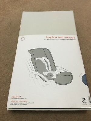 Bugaboo Bee 5 Seat Fabric - Black Brand New