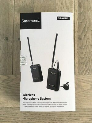 Saramonic SRWM4C Wireless Microphone System for Filming and Broadcasting
