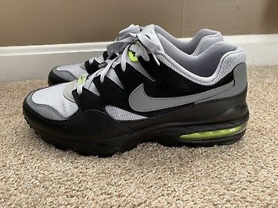 4e20dc5ef45 NIKE AIR MAX 94 Wolf Grey Cool Grey-Black-Volt Men s Size 12 AV2300 ...