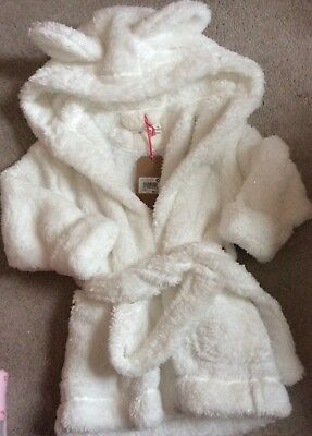 Bnwt Next Dressing Gown Girl 18-24 Months