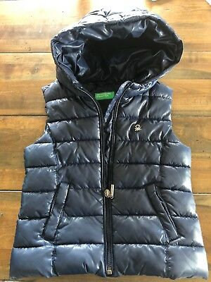 Boys United Colors Of Benetton Puffer Vest 3T