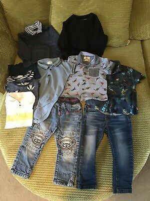 Baby Boys Clothes 12-18 Months All NEXT 11 Items