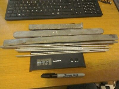 Mixed Lot. Lead Solder Bars and Sticks. Sheldon and other makes. 1.6 kg weight