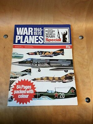 History Of The World Wars...war Planes 1945-1976.