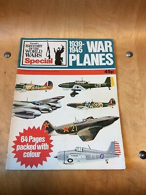 History Of The World Wars...war Planes 1939-1945.