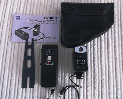 Canon LC-1 Wireless Controller Receiver and Transmitter Remote For Canon A1 AE1
