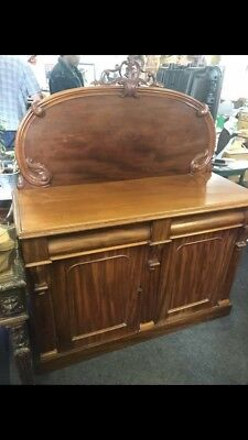 Large Sideboard Victorian Chiffonier