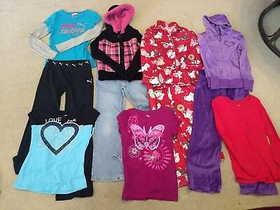 Girls Clothes Size 7-8 Fall/Winter Large Lot  35+ Pcs Very Good Condition
