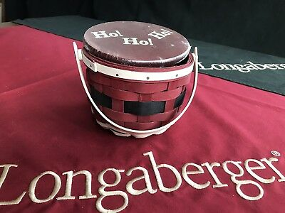 Longaberger Santa Belly - Complete set - NEW - still wrapped