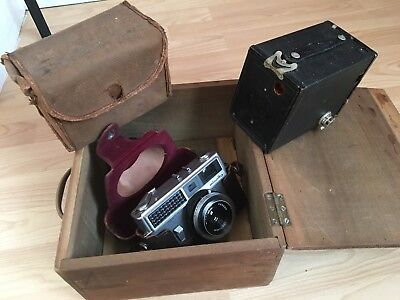 Two Old Cameras