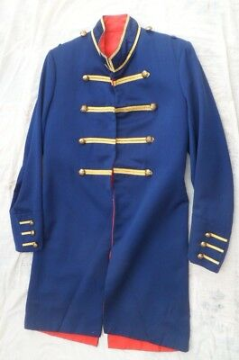A military style footmans frock coat