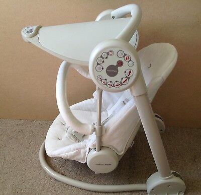 mamas and papas baby musical swing chair