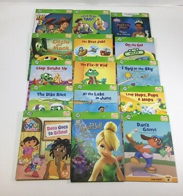 Lot Of 15 Leap Frog Tag Reader Books Condition Is Excellent