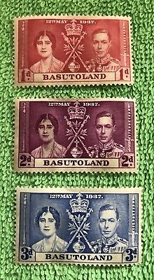 Basutoland 1937 Coronation KGVI M/Mint FREE GIFT WITH EVERY ORDER!