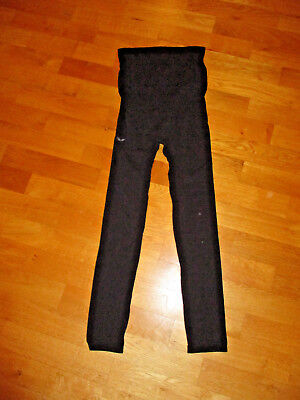 wie neu ! under2wear Leggings schwarz Umstandsleggings Gr L