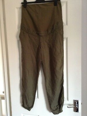 Lovely Maternity Trousers Size 10 12 By H&M
