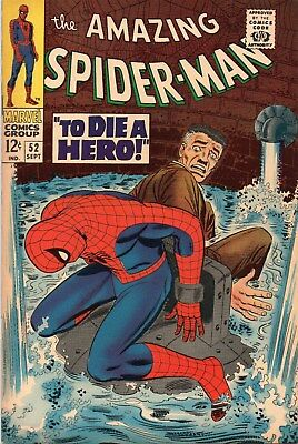 Amazing Spider-Man 52 Silver Age (1967) 1St Appearance Of Joe(Robbie) Robertson